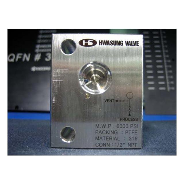 SUS 밸브 레이저 마킹